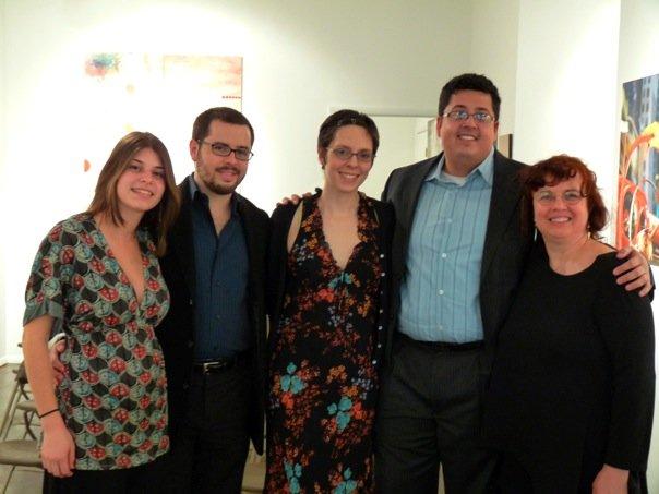 Alyssa Weinberg, EC, Alicia Storin, Sean Neukom, Lori-Gene